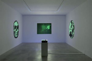 Tony Oursler. The volcano and poetics tattoo alla Dep Art Gallery di Milano
