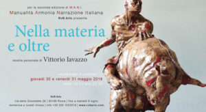 Nella materia e oltre, la mostra personale di Vittorio Iavazzo alla RvB Arts di Roma