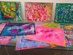 L'emozione del colore in cento carte d'autore