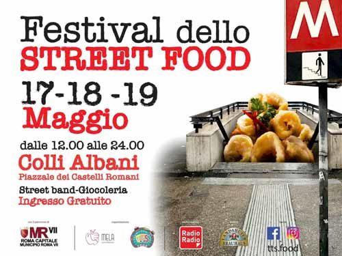 Il Festival Street Food approda ai Colli Albani a Roma