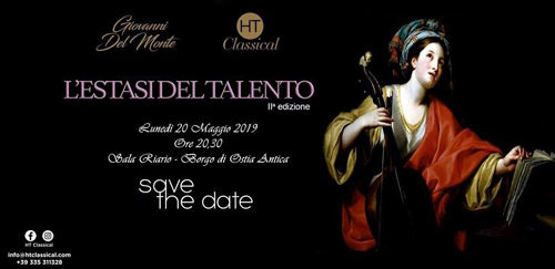 HT Classical presenta L'estasi del Talento alla Sala Riario di Ostia Antica