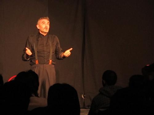 Giancarlo Fares ed Emiliano Valente per la rassegna Attracchi al Teatro Villa Pamphilj di Roma