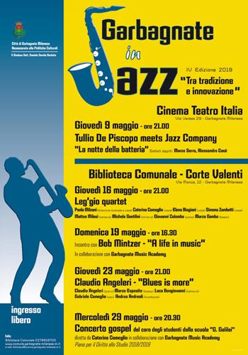"""""""Blues is more"""": jazz d'autore a Garbagnate Milanese con il quintetto del pianista Claudio Angeleri"""