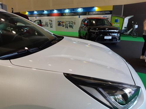 Anteprime italiane di auto elettriche e veicoli commerciali in Campionaria a Padova
