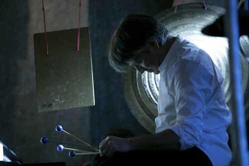 Le 100 percussioni di Ravenna Festival, la scrittura per percussioni in due concerti