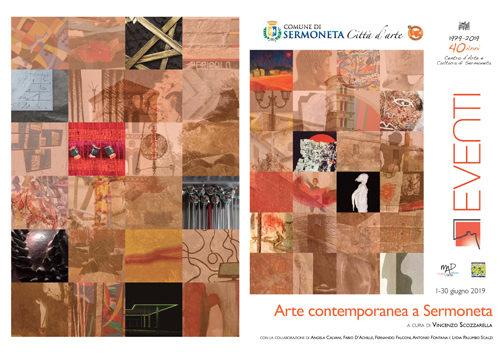 Arte Contemporanea a Sermoneta, continua il programma di eventi 2019 fino al 30 giugno