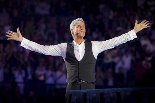 """Claudio Baglioni sarà premiato ai Seat Music Awards 2019 all'Arena di Verona per il successo del tour """"Al Centro"""""""