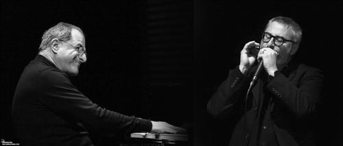 Concerto di Enrico Pieranunzi e Max De Aloe Duo, al Parco delle terme di Levico