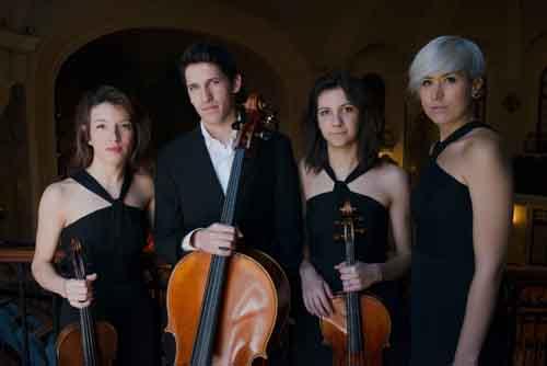 Le affinità elettive del Quartetto Echos