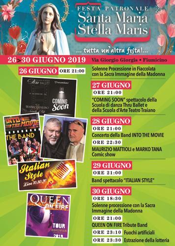 Festa Patronale Stella Maris Fiumicino