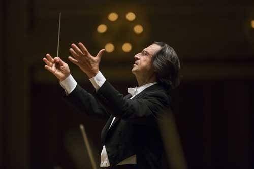 Riccardo Muti e Maurizio Pollini per l'inaugurazione di Ravenna Festival 2019 al Palazzo Mauro de Andrè