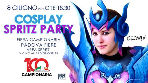 Spritz Party per Cosplay sabato in Fiera a Padova