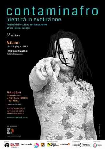 Al via alla Fabbrica del Vapore di Milano Contaminafro