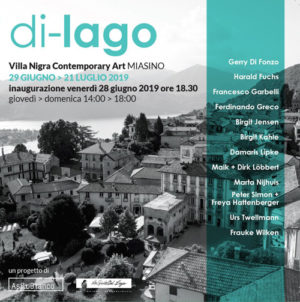 di-lago, mostra internazionale d'arte contemporanea a Villa Nigra a Miasino