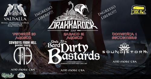 Drakkarock, annunciati gli headliner del festival open air Piemontese