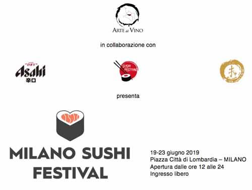 Milano Sushi Festival, al via la prima edizione dal 19 al 23 giugno