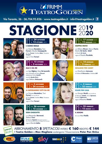 Teatro Golden Stagione 2019 2010