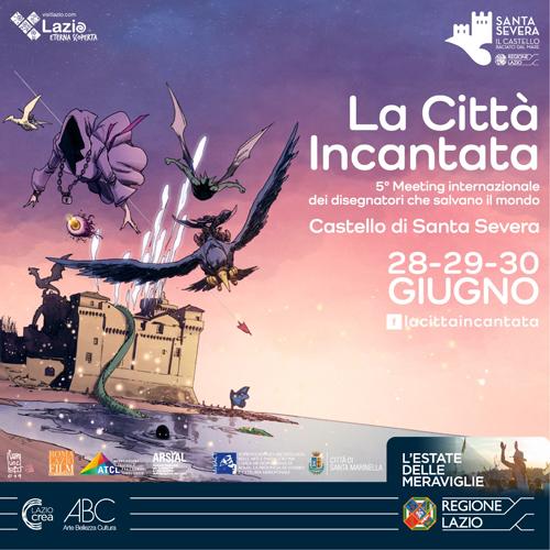 La città incantata 2019. Quinto meeting internazionale dei disegnatori che salvano il mondo. Speciale mostre sul fumetto