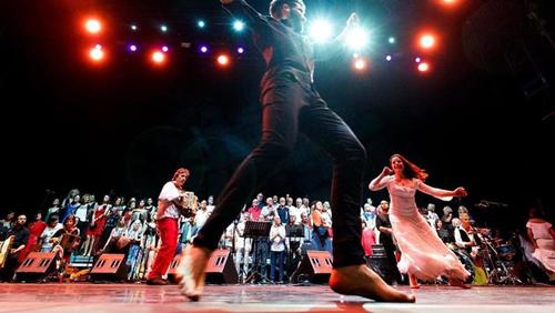 La Taranta incontrerà la Rumba gitana flamenca all'Auditorium Parco della Musica di Roma