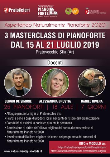 Al via a Pratovecchio Stia, Aspettando Naturalmente Pianoforte 2020. In programma i concerti di Luca Carboni, Mimmo Locasciulli e Alessandra Celletti