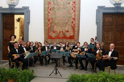 """Artcity2019 – Palcoscenico – concerto """"Tra Oriente e Occidente"""" dell'Orchestra mandolinistica romana, all'Abbazia di San Nilo Grottaferrata"""