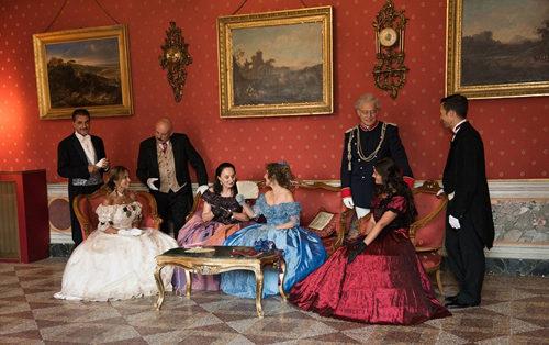ArtCity 2019. Rievocazione storica '800, ballo in costume d'epoca a Palazzo Boncompagni Ludovisi a Roma