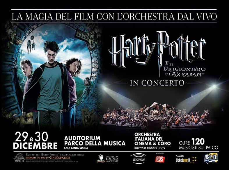 Harry Potter e il prigioniero di Azkaban™ in concerto, aperte le prevendite - Il pubblico assisterà all'intero film con l'Orchestra Italiana del Cinema