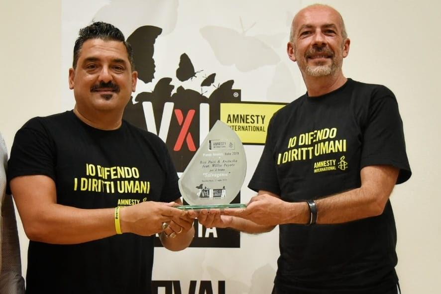 """I Grace N Kaos vincono il Premio Amnesty di """"Voci per la libertà"""""""