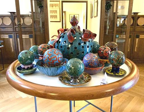 Visita guidata alla mostra Clara Garesio – Mirabilia e Naturalia. Ceramiche e carte