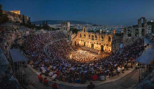 Le vie dell¹Amicizia da Atene