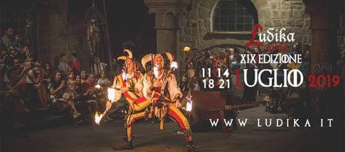 Ludika1243, la manifestazione alla sua XIX edizione e in programma a Viterbo dall'11 luglio è ai nastri di partenza con due settimane di appuntamenti