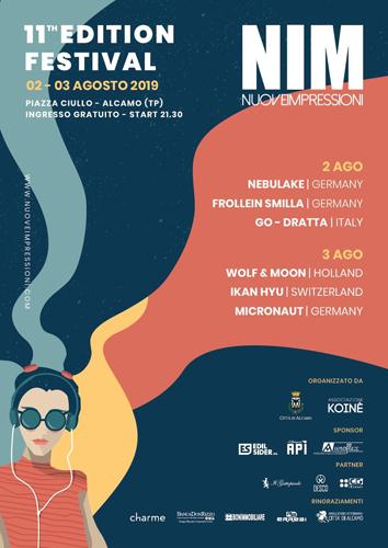 Festival NIM – Nuove Impressioni, al via l'11° edizione. Si parte con Nebulake, Frollein Smilla e Go-Dratta