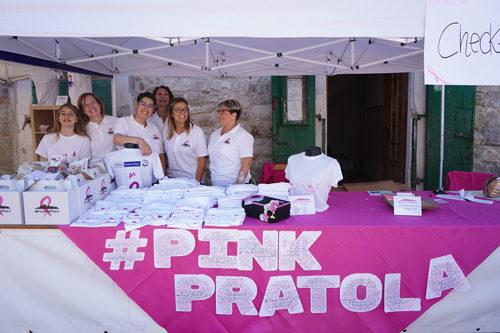 #Pinkpratola, grande successo per la carovana della prevenzione