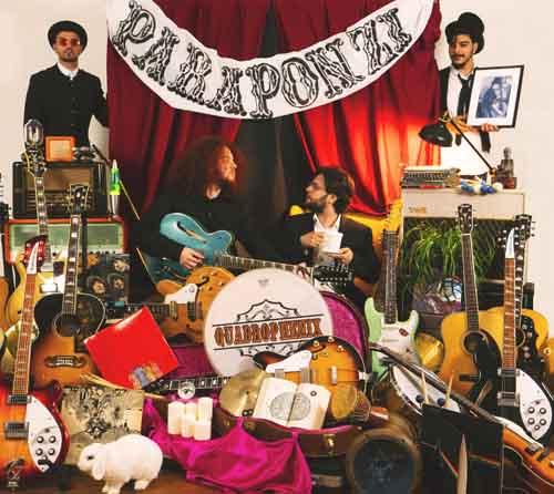 """Quadrophenix è in uscita il disco di debutto """"Paraponzi"""""""
