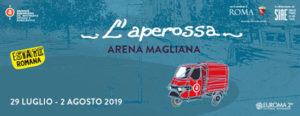 """L'Aperossa, il programma dell'arena """"50 sfumature di donna"""" dal 29 luglio al 2 agosto in Piazza De André a Roma"""