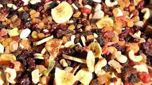 Macedonia di frutta secca