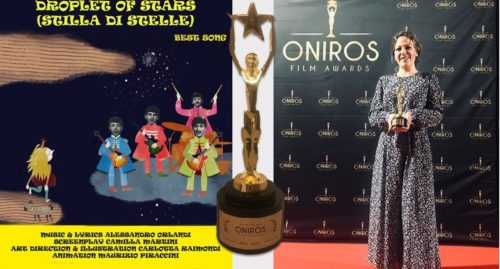 "Stilla di Stelle ""Best song 2019"" trionfa all'Oniros Film Awards"