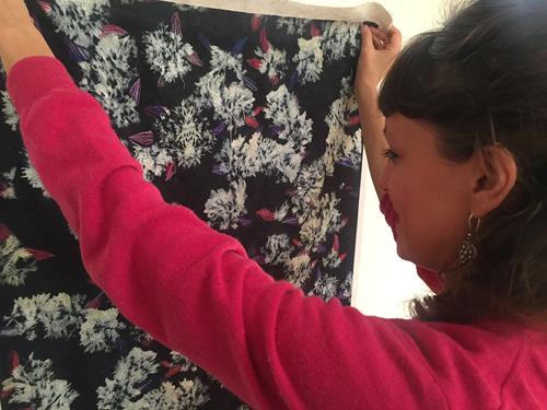 Elena Hamerski. Duplex Natura, la mostra a conclusione della residenza d'artista alla Dino Zoli Textile a Forlì