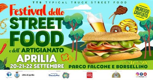 Il Festival Street Food e Artigianato approda ad Aprilia dal 20 al 22 settembre