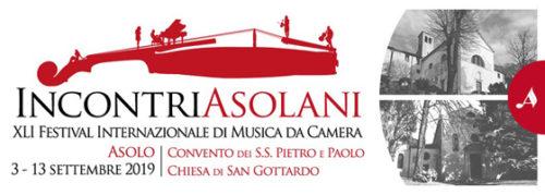 Incontri Asolani, 41° Festival Internazionale di Musica da Camera Asolo