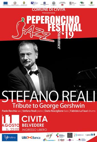 Il regista e pianista Stefano Reali domani a Civita per il PJF