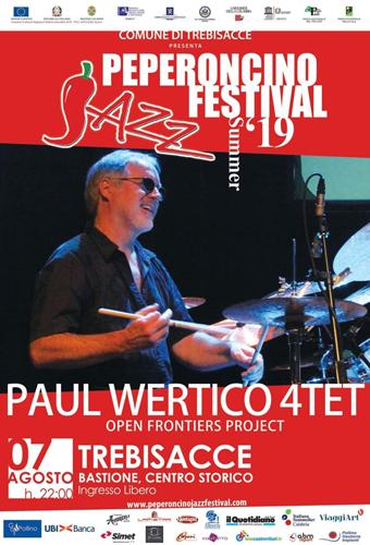 Paul Wertico e John Helliwell domani sera a Trebisacce per il 18° Peperoncino Jazz