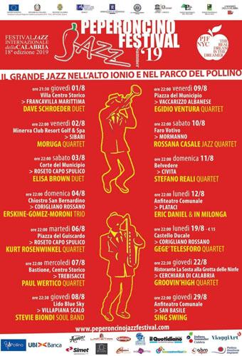 Il Peperoncino Jazz approda sullo Ionio: i Moruga a Sibari aspettando il Trio E.G.M.