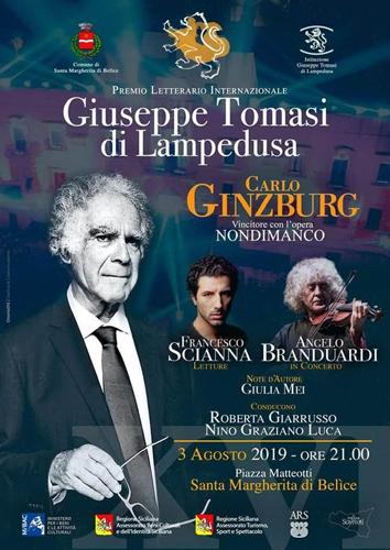 Nino Graziano Luca condurrà il premio Tomasi di Lampedusa e terrà il Gran Ballo del Gattopardo