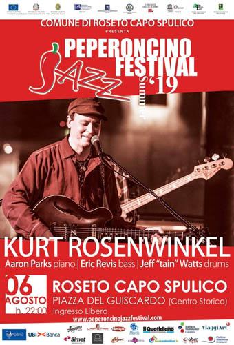 Peperoncino Jazz: Kurt Rosenwinkel domani a Roseto
