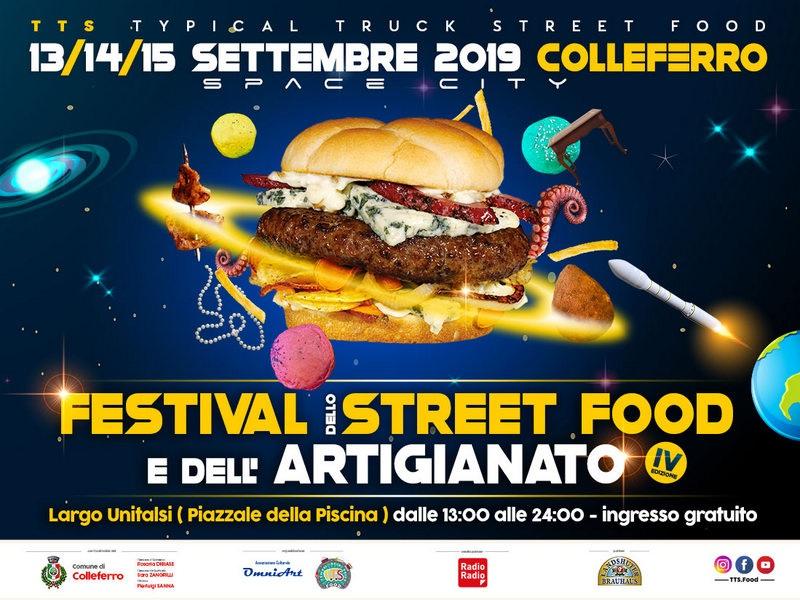 Festival Street Food e Artigianato di Colleferro dal 13 al 15 settembre