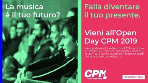 Open Day al CPM Music Institute di Milano, scuola diretta e fondata da Franco Mussida