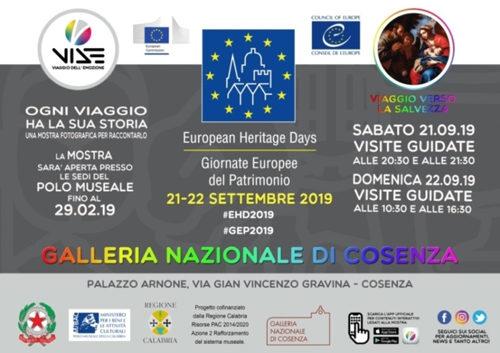 Il Polo museale della Calabria aderisce alle Giornate Europee del Patrimonio 2019