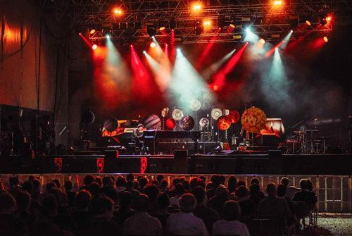 Dardust in concerto all'Auditorium Parco della Musica di Roma
