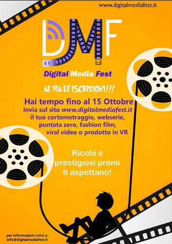 Al via la prima edizione del Digital Media Fest